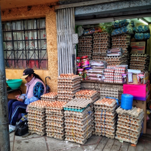 Egg Shop Vendor Puno Peruvian Cultural Quirks