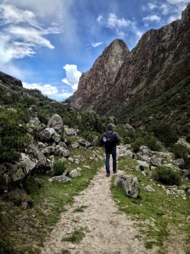 Santa Cruz Trek Hiking Trail Patrick Mountains Peru