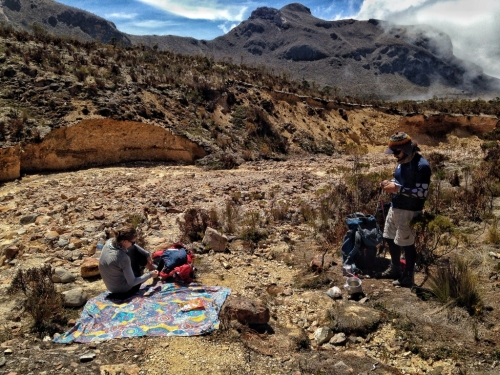 Los Nevados Base Camp Picnic