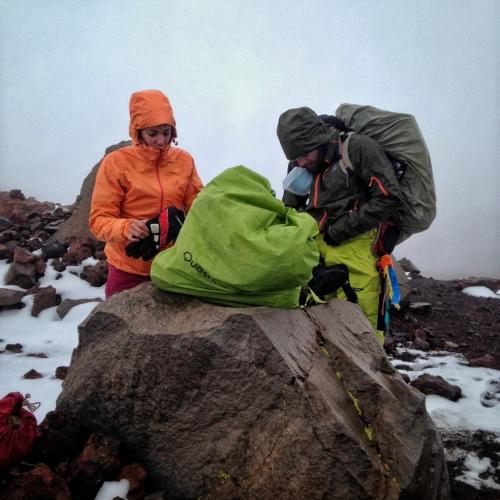 Chachani Mountain Snow Preparation