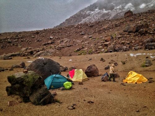 Chachani Tents Mountain Peru
